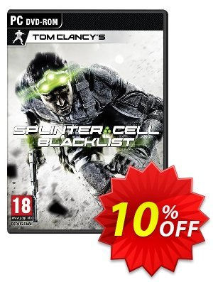 Tom Clancy's Splinter Cell Blacklist - Limited Upper Echelon Edition (PC) discount coupon Tom Clancy's Splinter Cell Blacklist - Limited Upper Echelon Edition (PC) Deal - Tom Clancy's Splinter Cell Blacklist - Limited Upper Echelon Edition (PC) Exclusive Easter Sale offer for iVoicesoft