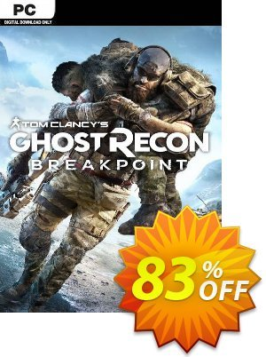Tom Clancy's Ghost Recon Breakpoint PC discount coupon Tom Clancy's Ghost Recon Breakpoint PC Deal - Tom Clancy's Ghost Recon Breakpoint PC Exclusive Easter Sale offer for iVoicesoft