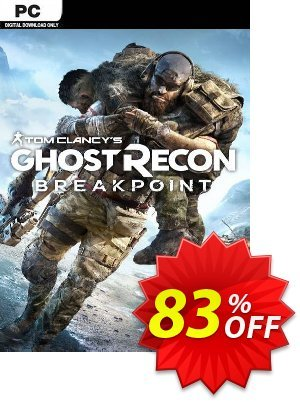 Tom Clancy's Ghost Recon Breakpoint PC Coupon discount Tom Clancy's Ghost Recon Breakpoint PC Deal. Promotion: Tom Clancy's Ghost Recon Breakpoint PC Exclusive Easter Sale offer for iVoicesoft