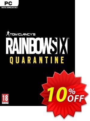 Tom Clancy's Rainbow Six Quarantine PC discount coupon Tom Clancy's Rainbow Six Quarantine PC Deal - Tom Clancy's Rainbow Six Quarantine PC Exclusive Easter Sale offer for iVoicesoft