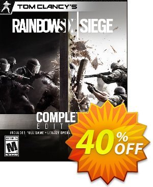 Tom Clancys Rainbow Six Siege Complete Edition PC discount coupon Tom Clancys Rainbow Six Siege Complete Edition PC Deal - Tom Clancys Rainbow Six Siege Complete Edition PC Exclusive Easter Sale offer for iVoicesoft