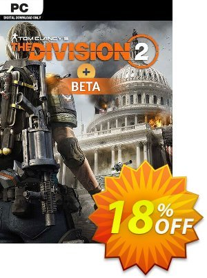 Tom Clancys The Division 2 PC + Beta discount coupon Tom Clancys The Division 2 PC + Beta Deal - Tom Clancys The Division 2 PC + Beta Exclusive Easter Sale offer for iVoicesoft