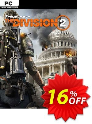 Tom Clancy's The Division 2 PC + DLC discount coupon Tom Clancy's The Division 2 PC + DLC Deal - Tom Clancy's The Division 2 PC + DLC Exclusive Easter Sale offer for iVoicesoft