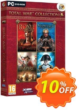 Total War Collection PC 프로모션 코드 Total War Collection PC Deal 프로모션: Total War Collection PC Exclusive Easter Sale offer for iVoicesoft