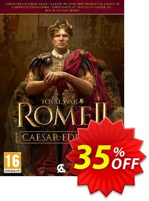 Total War Rome 2 - Caesar Edition PC discount coupon Total War Rome 2 - Caesar Edition PC Deal - Total War Rome 2 - Caesar Edition PC Exclusive Easter Sale offer for iVoicesoft