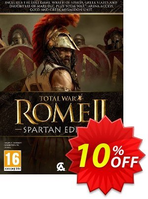 Total War: Rome II 2 – Spartan Edition PC discount coupon Total War: Rome II 2 – Spartan Edition PC Deal - Total War: Rome II 2 – Spartan Edition PC Exclusive Easter Sale offer for iVoicesoft