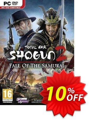 Total War Shogun 2 : Fall Of The Samurai (PC) discount coupon Total War Shogun 2 : Fall Of The Samurai (PC) Deal - Total War Shogun 2 : Fall Of The Samurai (PC) Exclusive Easter Sale offer for iVoicesoft