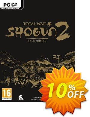 Total War: Shogun 2 - Gold Edition PC 優惠券,折扣碼 Total War: Shogun 2 - Gold Edition PC Deal,促銷代碼: Total War: Shogun 2 - Gold Edition PC Exclusive Easter Sale offer for iVoicesoft