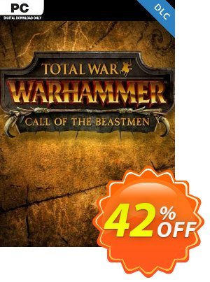 Total War WARHAMMER – Call of the Beastmen Campaign Pack DLC discount coupon Total War WARHAMMER – Call of the Beastmen Campaign Pack DLC Deal - Total War WARHAMMER – Call of the Beastmen Campaign Pack DLC Exclusive Easter Sale offer for iVoicesoft