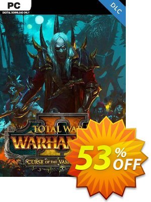 Total War Warhammer II 2 PC - Curse of the Vampire Coast DLC (WW) discount coupon Total War Warhammer II 2 PC - Curse of the Vampire Coast DLC (WW) Deal - Total War Warhammer II 2 PC - Curse of the Vampire Coast DLC (WW) Exclusive Easter Sale offer for iVoicesoft