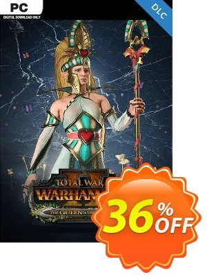 Total War Warhammer II 2 PC - The Queen & The Crone DLC (WW) discount coupon Total War Warhammer II 2 PC - The Queen & The Crone DLC (WW) Deal - Total War Warhammer II 2 PC - The Queen & The Crone DLC (WW) Exclusive Easter Sale offer for iVoicesoft