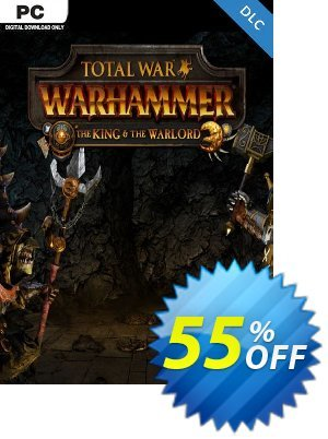Total War WARHAMMER – The King and the Warlord DLC discount coupon Total War WARHAMMER – The King and the Warlord DLC Deal - Total War WARHAMMER – The King and the Warlord DLC Exclusive Easter Sale offer for iVoicesoft