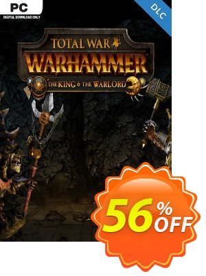 Total War WARHAMMER – The King and the Warlord DLC Coupon discount Total War WARHAMMER – The King and the Warlord DLC Deal. Promotion: Total War WARHAMMER – The King and the Warlord DLC Exclusive Easter Sale offer for iVoicesoft