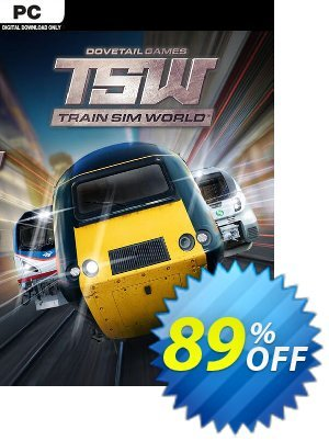 Train Sim World PC + DLCs Coupon discount Train Sim World PC + DLCs Deal. Promotion: Train Sim World PC + DLCs Exclusive Easter Sale offer for iVoicesoft