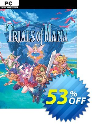 Trials of Mana PC discount coupon Trials of Mana PC Deal - Trials of Mana PC Exclusive Easter Sale offer for iVoicesoft