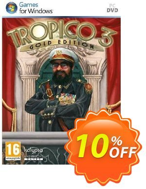 Tropico 3: Gold Edition (PC) discount coupon Tropico 3: Gold Edition (PC) Deal - Tropico 3: Gold Edition (PC) Exclusive Easter Sale offer for iVoicesoft