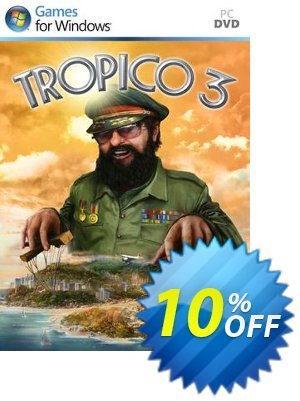 Tropico 3 (PC) 프로모션 코드 Tropico 3 (PC) Deal 프로모션: Tropico 3 (PC) Exclusive Easter Sale offer for iVoicesoft