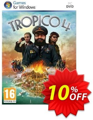 Tropico 4 (PC) discount coupon Tropico 4 (PC) Deal - Tropico 4 (PC) Exclusive Easter Sale offer for iVoicesoft
