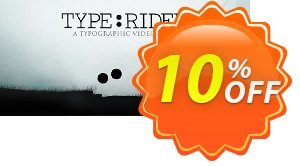 TypeRider PC割引コード・TypeRider PC Deal キャンペーン:TypeRider PC Exclusive Easter Sale offer for iVoicesoft