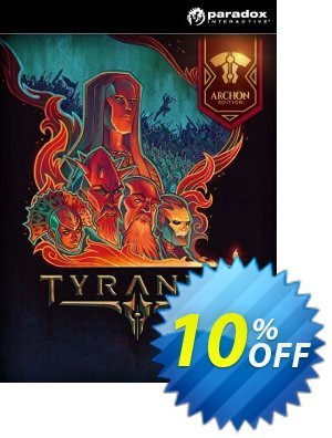 Tyranny - Archon Edition PC discount coupon Tyranny - Archon Edition PC Deal - Tyranny - Archon Edition PC Exclusive Easter Sale offer for iVoicesoft