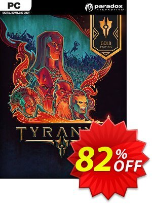 Tyranny Gold Edition PC discount coupon Tyranny Gold Edition PC Deal - Tyranny Gold Edition PC Exclusive Easter Sale offer for iVoicesoft