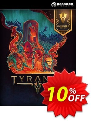 Tyranny - Overlord Edition PC discount coupon Tyranny - Overlord Edition PC Deal - Tyranny - Overlord Edition PC Exclusive Easter Sale offer for iVoicesoft