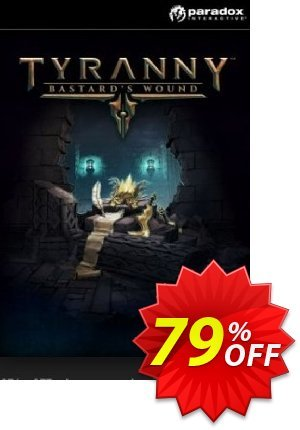 Tyranny PC - Bastards Wound DLC Coupon discount Tyranny PC - Bastards Wound DLC Deal. Promotion: Tyranny PC - Bastards Wound DLC Exclusive Easter Sale offer for iVoicesoft