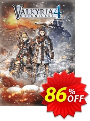 Valkyria Chronicles 4 PC Coupon discount Valkyria Chronicles 4 PC Deal. Promotion: Valkyria Chronicles 4 PC Exclusive Easter Sale offer for iVoicesoft