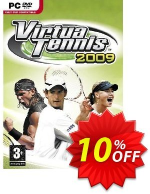 Virtua Tennis 2009 (PC)割引コード・Virtua Tennis 2009 (PC) Deal キャンペーン:Virtua Tennis 2009 (PC) Exclusive Easter Sale offer for iVoicesoft