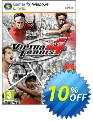 Virtua Tennis 4 (PC) discount coupon Virtua Tennis 4 (PC) Deal - Virtua Tennis 4 (PC) Exclusive Easter Sale offer for iVoicesoft