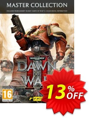 Warhammer 40.000 Dawn of War II 2 Master Collection PC discount coupon Warhammer 40.000 Dawn of War II 2 Master Collection PC Deal - Warhammer 40.000 Dawn of War II 2 Master Collection PC Exclusive Easter Sale offer for iVoicesoft