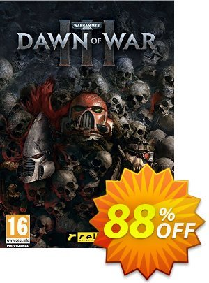 Warhammer 40.000 Dawn of War III 3 PC discount coupon Warhammer 40.000 Dawn of War III 3 PC Deal - Warhammer 40.000 Dawn of War III 3 PC Exclusive Easter Sale offer for iVoicesoft