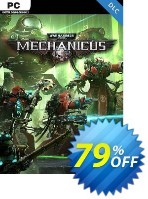 Warhammer 40,000 Mechanicus - Heretek DLC PC 優惠券,折扣碼 Warhammer 40,000 Mechanicus - Heretek DLC PC Deal,促銷代碼: Warhammer 40,000 Mechanicus - Heretek DLC PC Exclusive Easter Sale offer for iVoicesoft