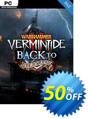 Warhammer Vermintide 2 PC - Back to Ubersreik DLC discount coupon Warhammer Vermintide 2 PC - Back to Ubersreik DLC Deal - Warhammer Vermintide 2 PC - Back to Ubersreik DLC Exclusive Easter Sale offer for iVoicesoft