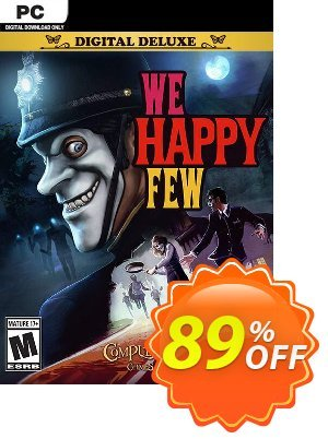 We Happy Few Deluxe Edition PC 프로모션 코드 We Happy Few Deluxe Edition PC Deal 프로모션: We Happy Few Deluxe Edition PC Exclusive Easter Sale offer for iVoicesoft