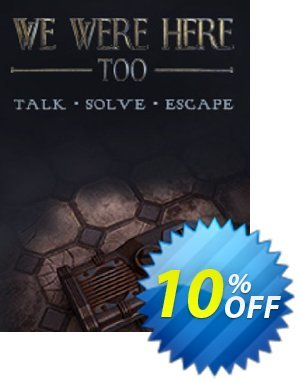 We Were Here Too PC Coupon discount We Were Here Too PC Deal. Promotion: We Were Here Too PC Exclusive Easter Sale offer for iVoicesoft