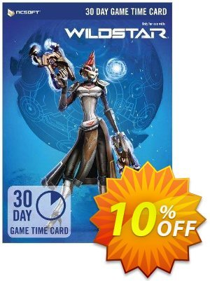 WildStar 30 Day Game Time Card PC discount coupon WildStar 30 Day Game Time Card PC Deal - WildStar 30 Day Game Time Card PC Exclusive Easter Sale offer for iVoicesoft