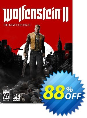 Wolfenstein II 2 The New Colossus PC (DE) discount coupon Wolfenstein II 2 The New Colossus PC (DE) Deal - Wolfenstein II 2 The New Colossus PC (DE) Exclusive Easter Sale offer for iVoicesoft