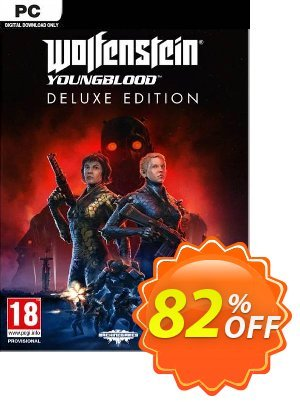 Wolfenstein: Youngblood Deluxe Edition PC (EMEA) discount coupon Wolfenstein: Youngblood Deluxe Edition PC (EMEA) Deal - Wolfenstein: Youngblood Deluxe Edition PC (EMEA) Exclusive Easter Sale offer for iVoicesoft