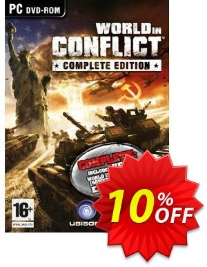 World in Conflict - Complete Edition (PC) 프로모션 코드 World in Conflict - Complete Edition (PC) Deal 프로모션: World in Conflict - Complete Edition (PC) Exclusive Easter Sale offer for iVoicesoft
