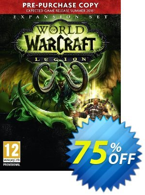 World of Warcraft (WoW): Legion PC/Mac (EU) discount coupon World of Warcraft (WoW): Legion PC/Mac (EU) Deal - World of Warcraft (WoW): Legion PC/Mac (EU) Exclusive Easter Sale offer for iVoicesoft