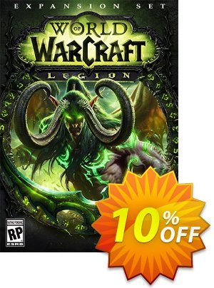 World of Warcraft (WoW) - Legion PC/Mac (US) discount coupon World of Warcraft (WoW) - Legion PC/Mac (US) Deal - World of Warcraft (WoW) - Legion PC/Mac (US) Exclusive Easter Sale offer for iVoicesoft
