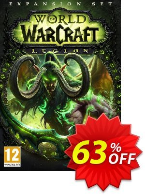 World of Warcraft (WoW) - Legion PC/Mac (EU) discount coupon World of Warcraft (WoW) - Legion PC/Mac (EU) Deal - World of Warcraft (WoW) - Legion PC/Mac (EU) Exclusive Easter Sale offer for iVoicesoft