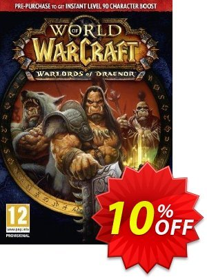 World of Warcraft (WoW): Warlords of Draenor Pack PC/Mac discount coupon World of Warcraft (WoW): Warlords of Draenor Pack PC/Mac Deal - World of Warcraft (WoW): Warlords of Draenor Pack PC/Mac Exclusive Easter Sale offer for iVoicesoft