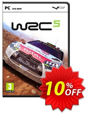 WRC 5: World Rally Championship PC discount coupon WRC 5: World Rally Championship PC Deal - WRC 5: World Rally Championship PC Exclusive Easter Sale offer for iVoicesoft