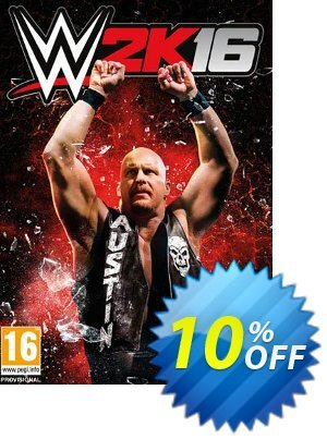 WWE 2K16 PC + DLC Coupon, discount WWE 2K16 PC + DLC Deal. Promotion: WWE 2K16 PC + DLC Exclusive Easter Sale offer for iVoicesoft