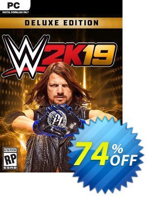 WWE 2K19 Deluxe Edition PC (EU) discount coupon WWE 2K19 Deluxe Edition PC (EU) Deal - WWE 2K19 Deluxe Edition PC (EU) Exclusive Easter Sale offer for iVoicesoft