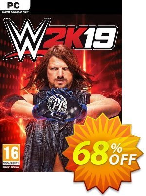 WWE 2K19 PC (EU) discount coupon WWE 2K19 PC (EU) Deal - WWE 2K19 PC (EU) Exclusive Easter Sale offer for iVoicesoft