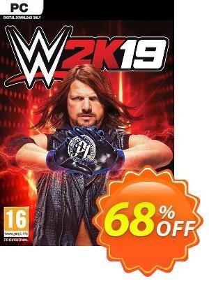 WWE 2K19 PC (EU) 프로모션 코드 WWE 2K19 PC (EU) Deal 프로모션: WWE 2K19 PC (EU) Exclusive Easter Sale offer for iVoicesoft