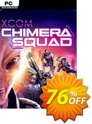 XCOM: Chimera Squad PC (WW) discount coupon XCOM: Chimera Squad PC (WW) Deal - XCOM: Chimera Squad PC (WW) Exclusive Easter Sale offer for iVoicesoft